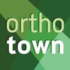 Ortho town logo